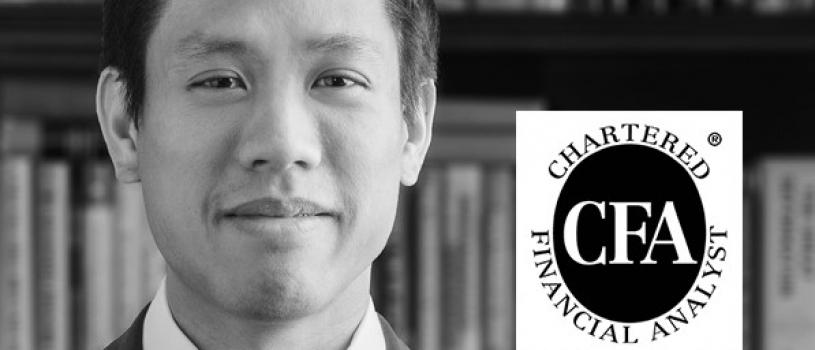 Brandon Yee Earns Prestigious CAIA Charterholder Credential